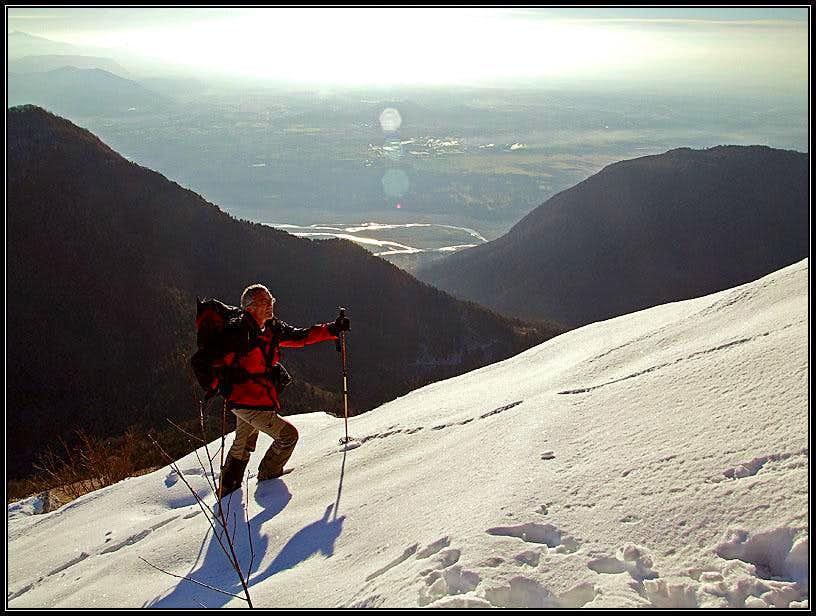 Monte Cuar ascent