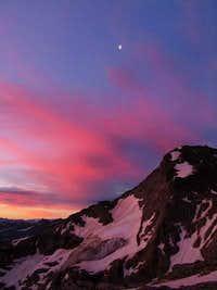 Sunrise On The Slopes Of Piz...