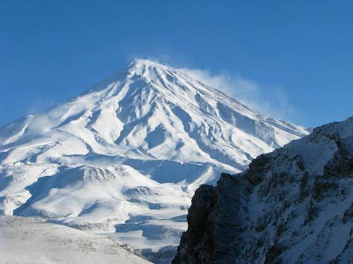 winter of Damavand
