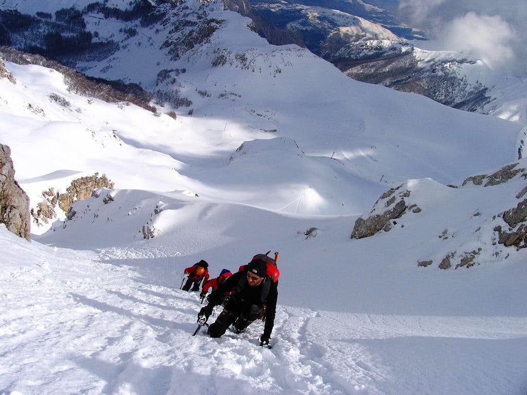 Canale Tortuoso couloir