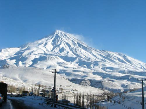 damavand from haraz
