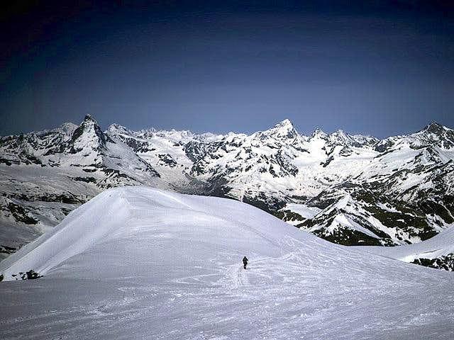 Matterhorn and Walis summits...