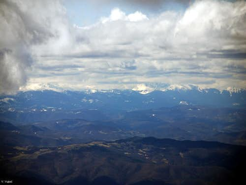 Sinjajevina and Durmitor from Kopaonik