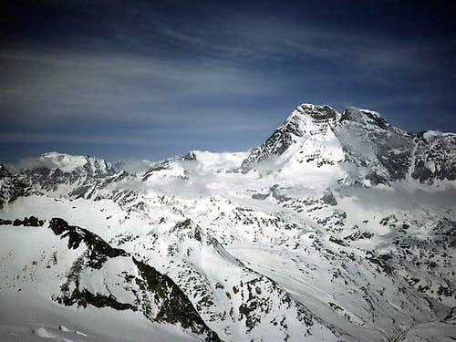 Grand Combin from Becca...