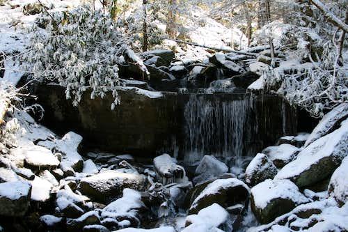 Unnamed Falls, LeConte Creek