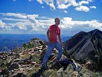 Standing atop Freedom Peak
