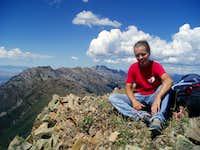 Sitting atop Freedom Peak