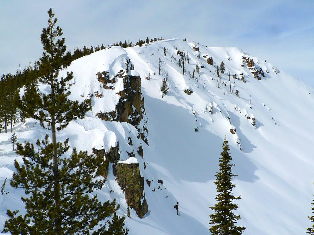 False Summit on Bull Trout Point