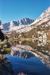 Mount Goode from Long Lake on...