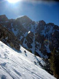 Winter Ascent of the Northeast Ridge