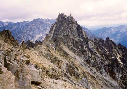 Sherpa Peak from the west,...