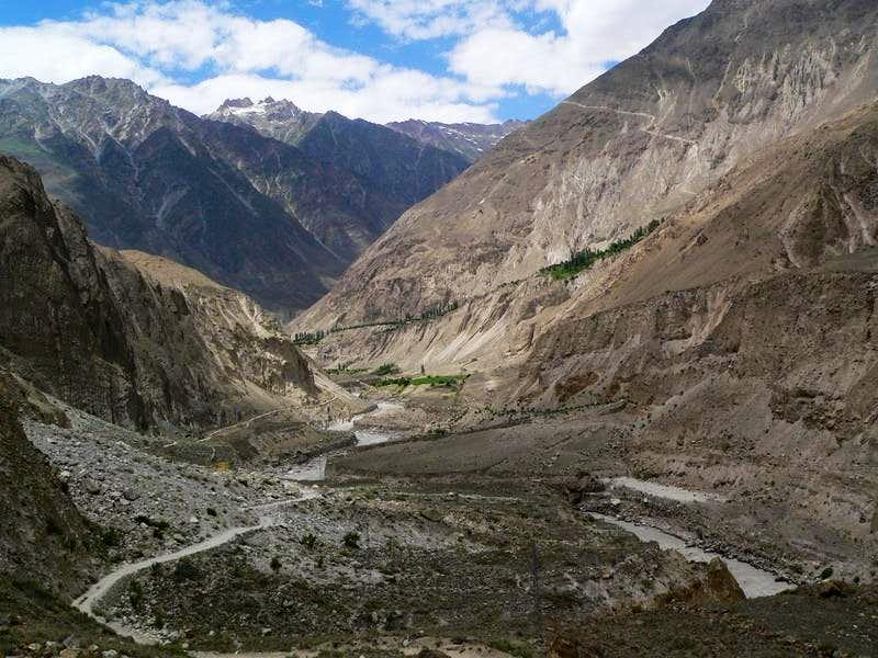 Approching to Askole, Karakoram, Baltistan