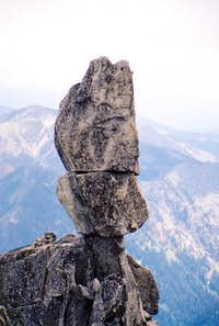The Sherpa Balanced Rock from...