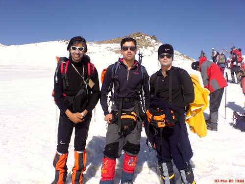 At Takhte-Nader plateau