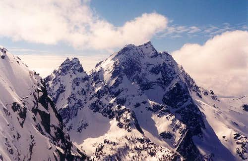 The north sides of Sherpa...