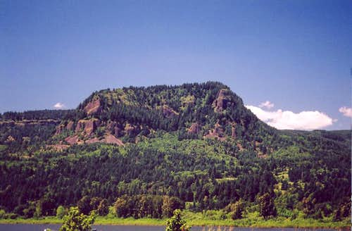 South face of Archer Mountain