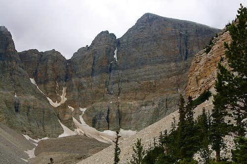Wheeler Peak's NE face