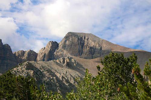 Northern view of Wheeler Peak