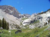 lower boy scout lake looking west