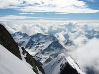 View from Vignemale summit 2