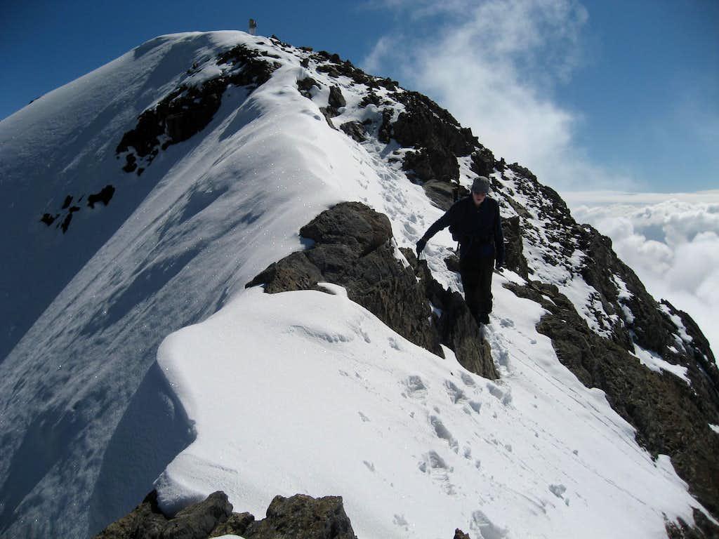 The summit of Vignemale