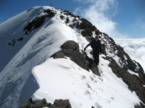 The summit of Vignemale