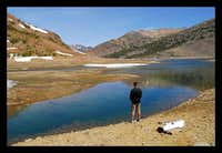 saddlebag lake - fishing
