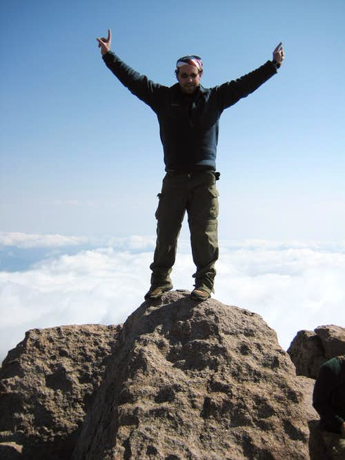 Longs Peak-Summit-14,259 ft.