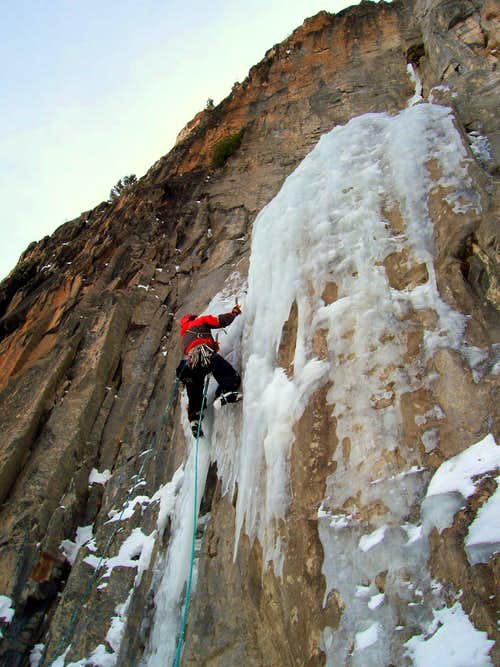 Climbing The Ames Ice Hose