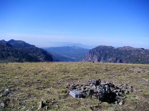 Summit Register Looking North