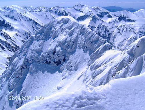 Capra neagra peak 2494m, Fagaras mountains