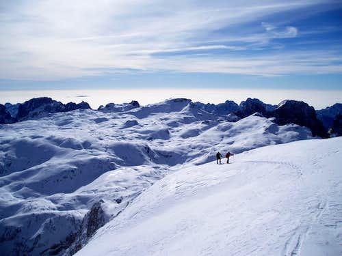 Vezzana by ski