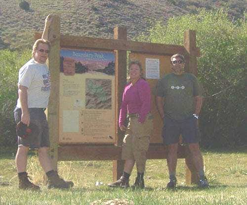 Our group at the trailhead