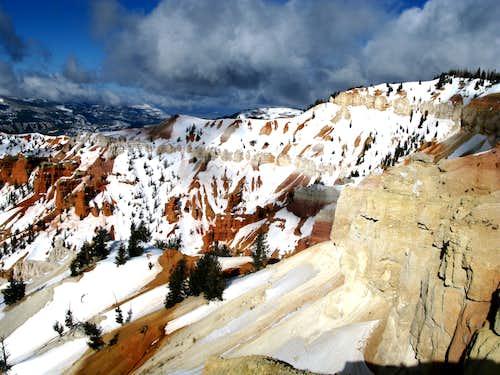 Cedar Breaks National Monument in Winter