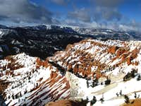Cedar Breaks National Monument in Winter