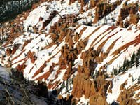Snow on Red Rock, Cedar Breaks National Monument