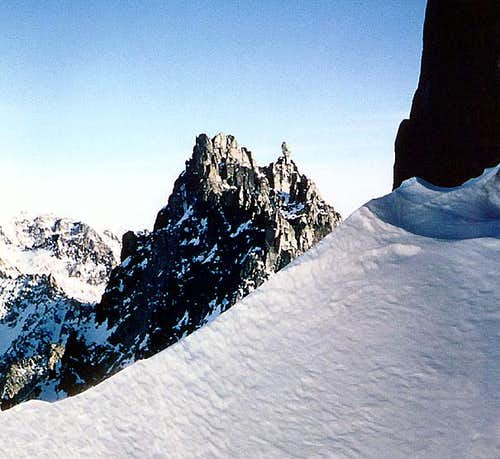 Sherpa Peak from the west.