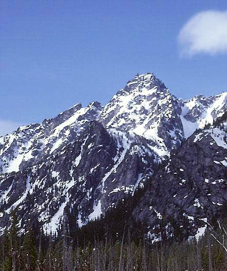 Sherpa Peak from the north.