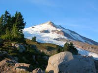 Sherman Peak and The Squak Glacier