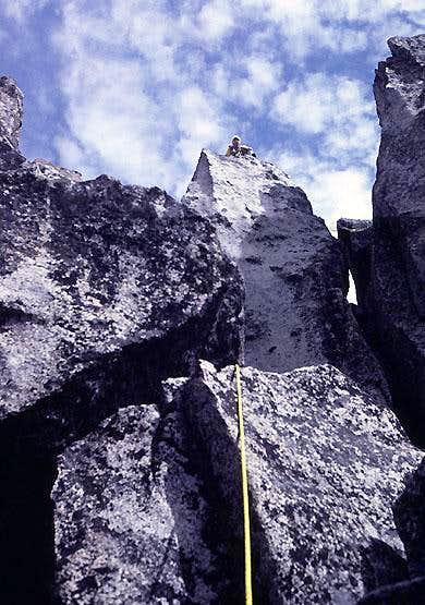 West Ridge of Sherpa Peak - Pitch 6