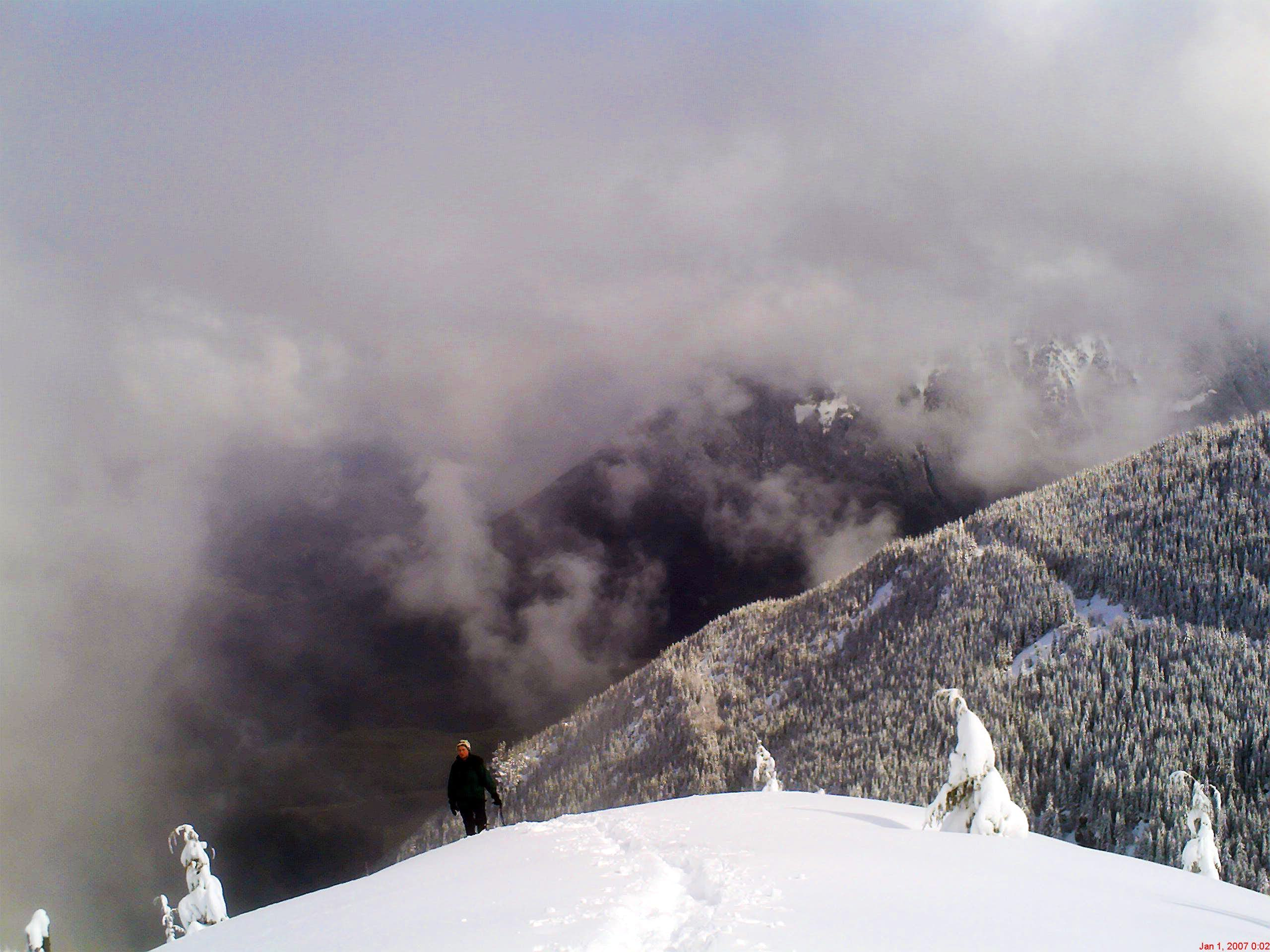 Winter on this Mount Washington