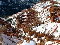 Snow-Covered Hoodoos of Cedar Breaks National Monument