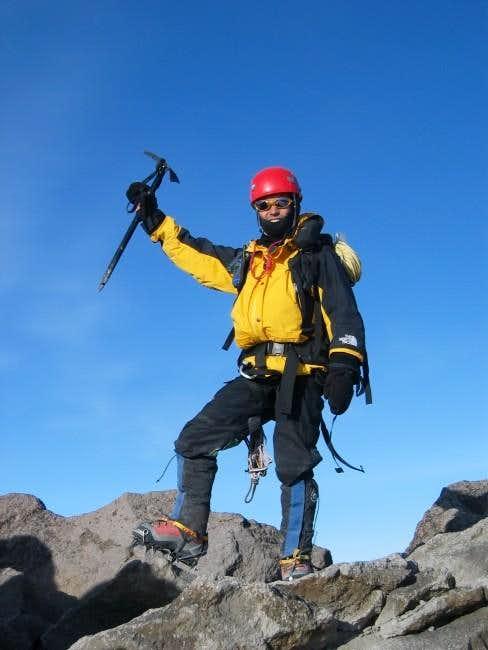 Me on the summit. Gorgeous...