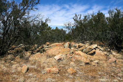 Burro Peak\'s summit