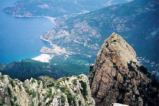 Summit View: looking down...