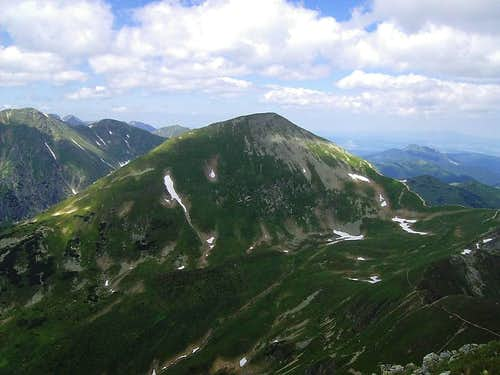 Starorobociański Wierch - Klin - 2176 m