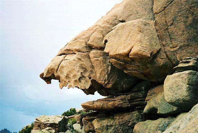 More bizarre rocks in Les...