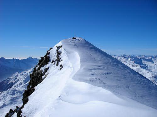 Piz Lagrev main summit 3164,5m