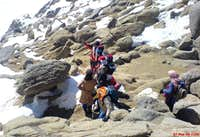 A local mountaineer on Alvand