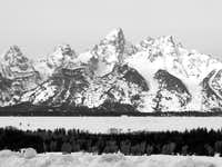 Tetons in March
